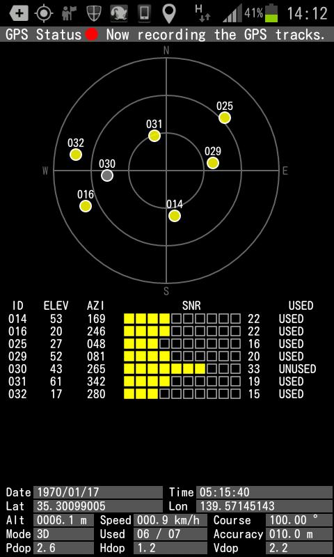 AndroidのGPS精度を測ってみた |...