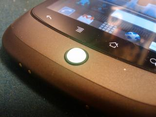 Nexus One の トラックボール