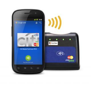 Google Wallet対応端末と読み取り端末
