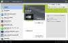 Honeycomb のマーケットアプリのマイアプリ画面